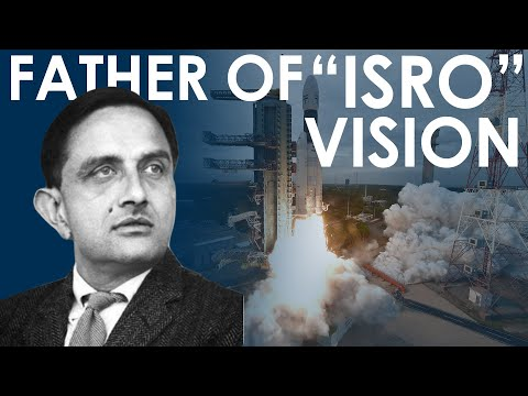 Dr vikram sarabhai Great vision On Indian Space Research - ISRO