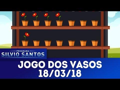 Jogo dos vasos | Programa Silvio Santos (18/03/18)