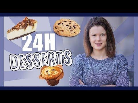 JE MANGE QUE DES DESSERTS PENDANT 24H - Claire