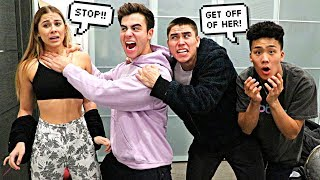 ABUSIVE BOYFRIEND PRANK ON BEST FRIENDS!
