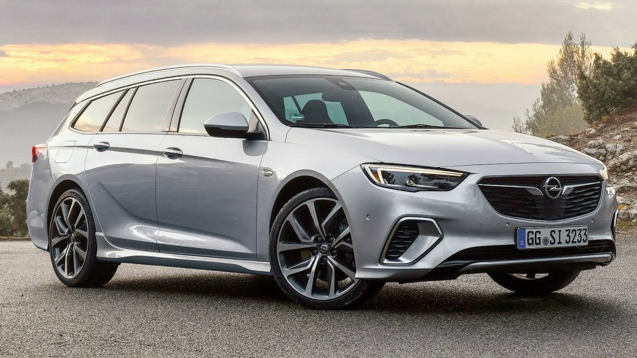 2018 opel insignia gsi sports tourer sharp powerful and uncompromising station wagon mix opel insignia [ 1280 x 720 Pixel ]