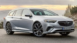 2018 Opel Insignia GSi Sports Tourer - Sharp, Powerful and Uncompromising Station Wagon