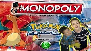 #1 Test jeu - [Club Noah] - Monopoly pokemon ! Attrapez-les tous !!!! thumbnail