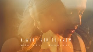I Want You To Know Zedd ft Selena Gomez // Madilyn Bailey & Megan Nicole - (Acoustic Version)