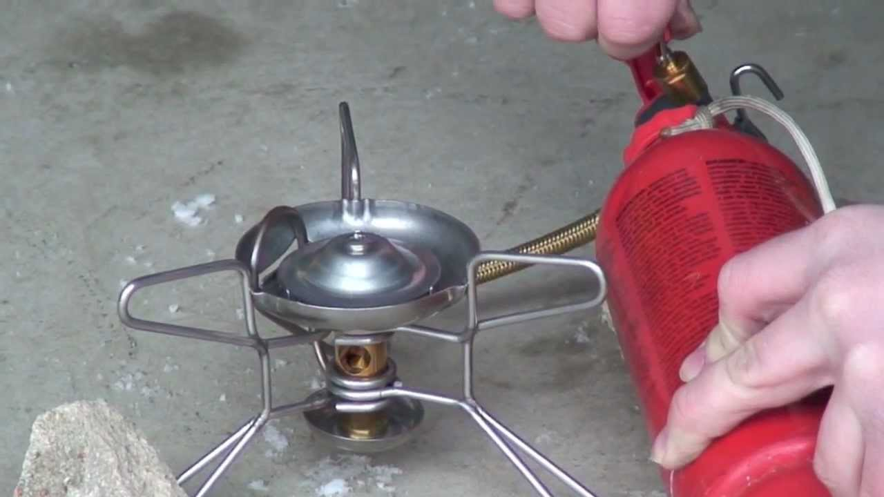 How to Operate an MSR Whisperlite Backcountry Stove