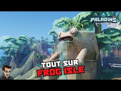 """Paladins FR - Tout ce qu'il faut savoir sur """"Frog Isle"""""""