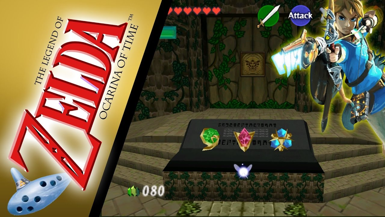 Breath Of The Wild recreated in Ocarina of Time - Update 1