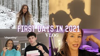 Weekly Vlog: start in 2021, shooting pics for the gram & couple time -annso