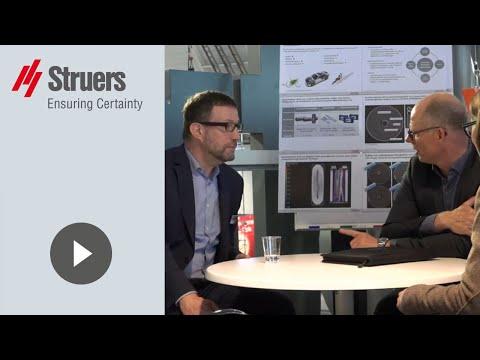 Video Duramin Hardness Tester launch on Control fair 2017 in Stuttgart