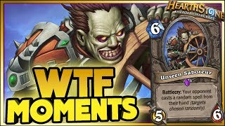 WTF MOMENT! | Hearthstone Rise of Shadows moments
