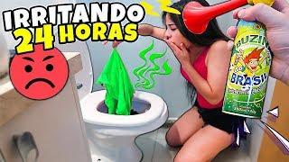 IRRITANDO MINHA NAMORADA POR 24 HORAS 😡