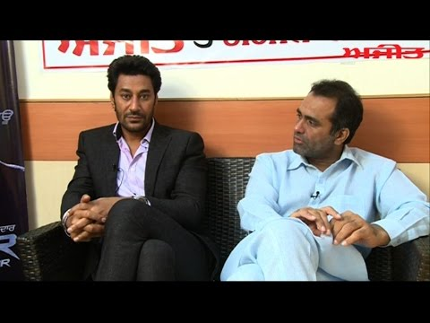 Spl. Interview with Punjabi Actor Harbhajan Mann & Director Amitoj on Ajit Web Tv.