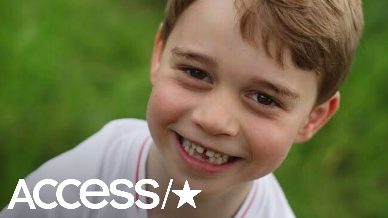 Prince George Flashes Toothy Grin In Adorable Photos For 6th Birthday