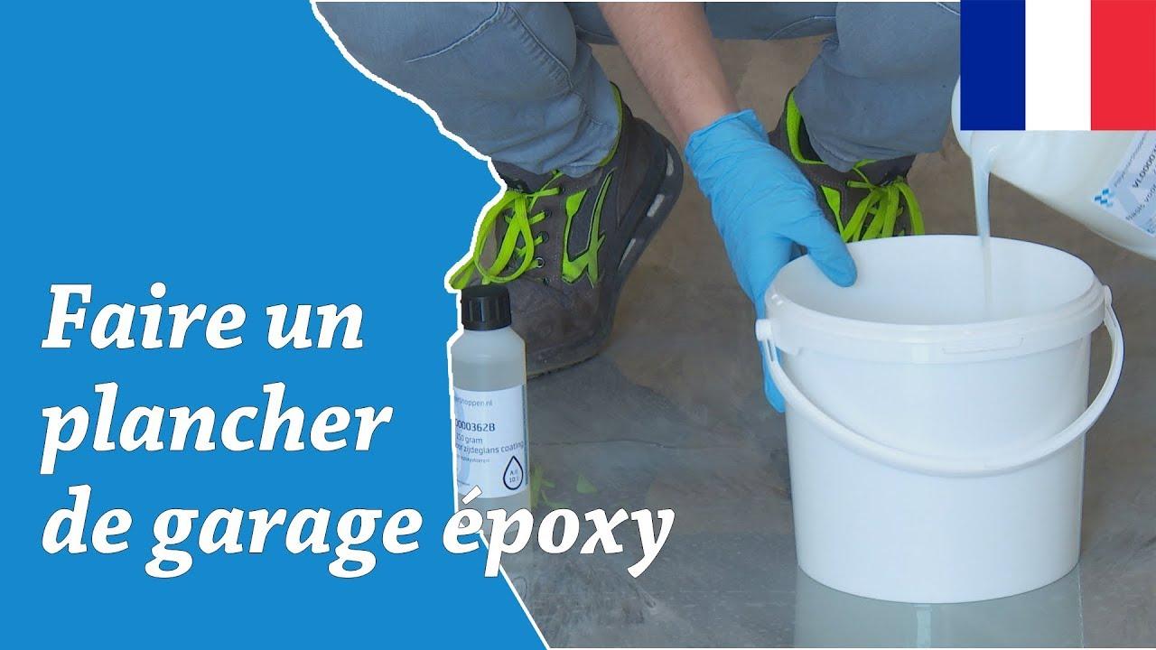 Revetement De Sol Pour Garage pose de plancher de garage avec revêtement de sol époxy