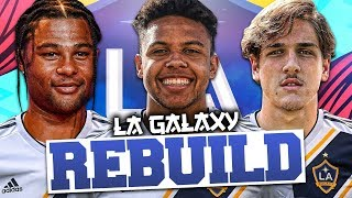 REBUILDING LA GALAXY!!! (In Europe) FIFA 20 Career Mode