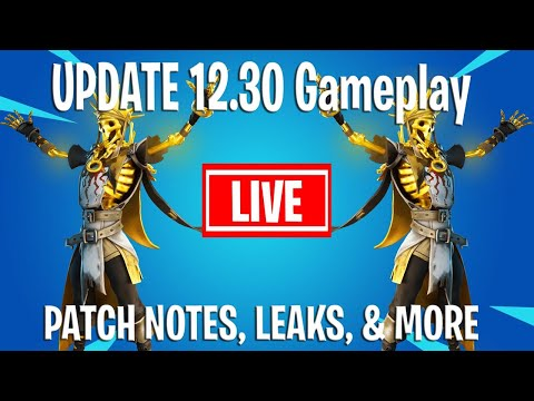 NEW QUEST EVENT Update 12.30 Gameplay  - Patch Notes Skin Leaks & More - Lets Hope For Event Leaks!