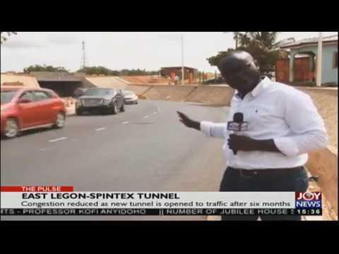 East Legon-Spintex Tunnel - The Pulse on JoyNews (24-4-18)