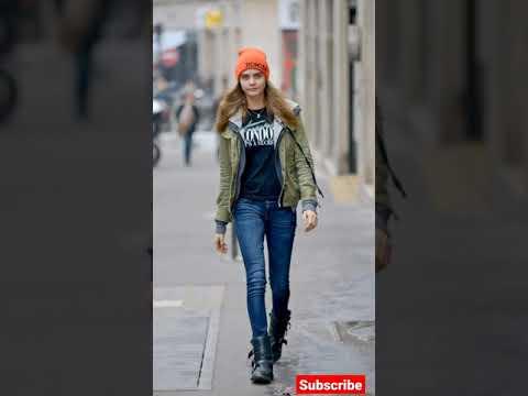 Cara Delevingne Street style looks#shorts