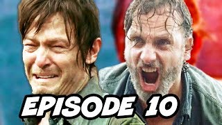 Video Walking Dead Season 7 Episode 10 TOP 10 WTF and Comics Easter Eggs download MP3, 3GP, MP4, WEBM, AVI, FLV Maret 2017