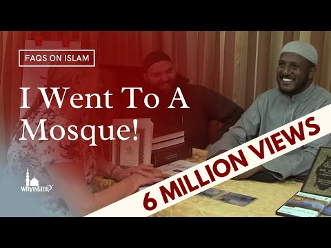 I went to a Mosque... Look what I saw!