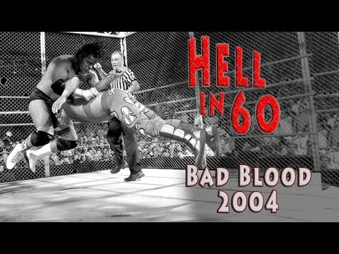 60 Seconds in Hell - Shawn Michaels vs. Triple H - Bad Blood 2004