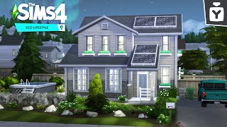 THE ECO LIFE 🌿 The Sims 4: Eco Lifestyle | Speed Build 🏡