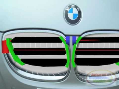 Bmw Air Vent Control Youtube