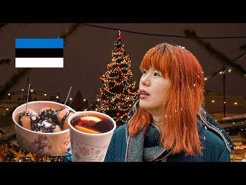 The Best Christmas Market in Europe - Tallinn, Estonia