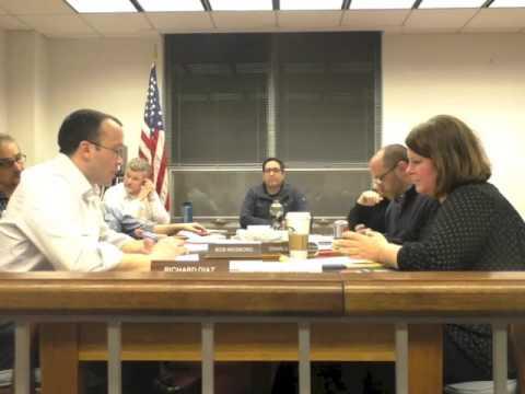 Narberth Borough Council Caucus Meeting  2/3/16