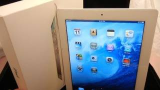 Apple iPad 2 Unboxing | Hands-On | White/ Black