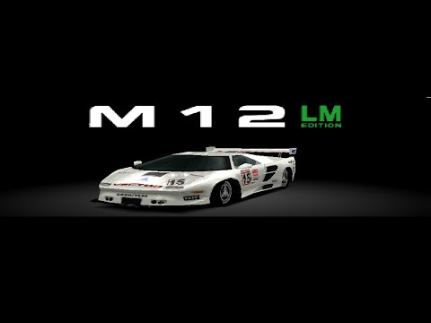 Gran Turismo 2 - Vector M12 LM Edition HD Gameplay