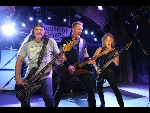 METALLICA  Whiskey in the Jar   from The House of Vans, London  18 November 2016