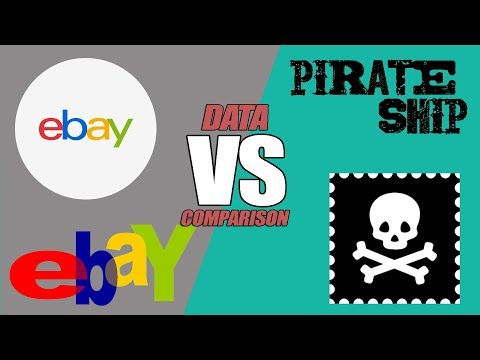 Ebay Shipping Vs Pirate Ship: Online Shipping Service Review