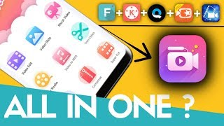 Best All In One Video Editing App 2018 ?