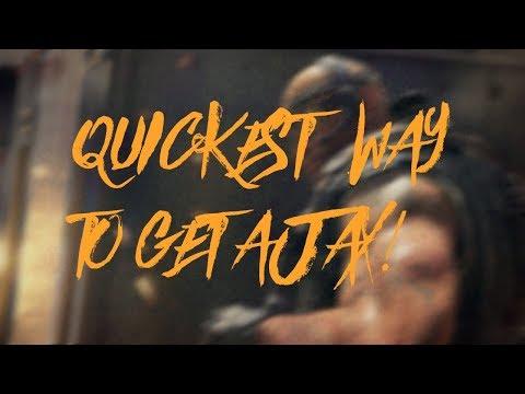 QUCKEST WAY TO UNLOCK AJAX!   Call of Duty Blackout  