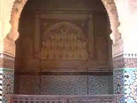 Marrakech's Saadian Tombs I