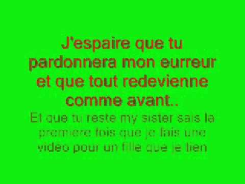 Ma Soeur De Coeur Youtube