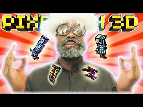 LEARNING 3 CAT SPAM! L Pixel Gun 3D - Episode 2