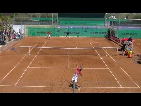 Semifinales XV ITF Junior Juan Carlos Ferrero. Kuhn vs Oliel