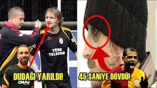 Takım Arkadaşını Acımadan Döven Futbolcular ( Galatasaray, Beşiktaş, Fenerbahçe, Trabzonspor )