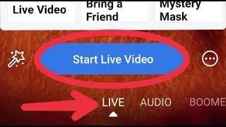 Facebook App Live Stream Start Problem Solve in Android