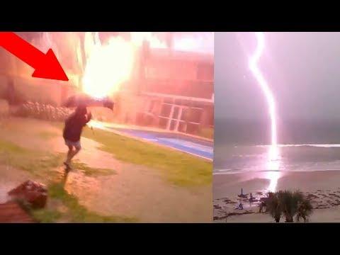 NEAR DEATH CAPTURED!! Struck By Lightning & My Near Death Experiences!