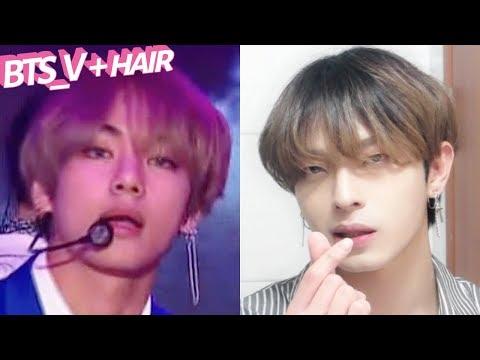 (Eng/Jpn)뷔(방탄소년단) 'DNA' 머리 하는 법! BTS 'V' Iron Hair Style Tutorial  | Joseph 죠셉