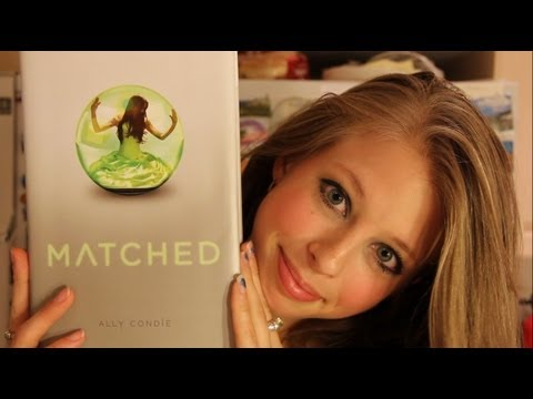 MATCHED BY ALLY CONDIE: booktalk with XTINEMAY