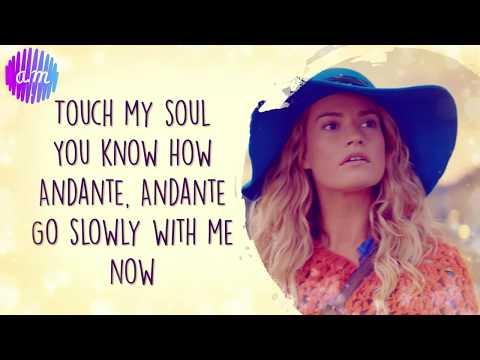 Andante, Andante (Mamma Mia OST) Lily James LYRICS