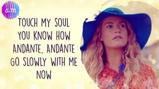 Andante, Andante (Mamma Mia OST) Lily James LYRICS