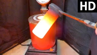 HOW TO USE AN Electric melting mains powered smelting Furnace for melting metal