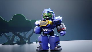 Angry Birds Transformers: Chef Pig as Soundwave