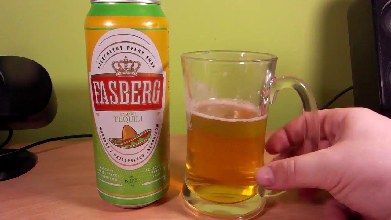 Fasberg Tequila Recenzja Piwa Z Biedronki Youtube