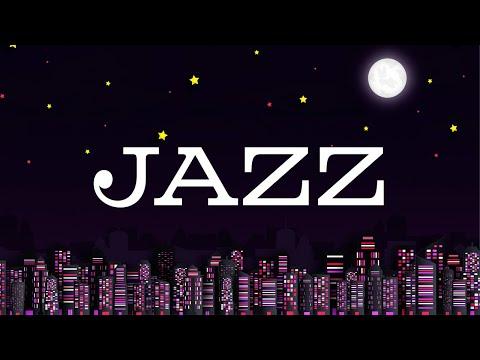 Black Night JAZZ - Exquisite Saxophone JAZZ &  Lights of Night City - Night Traffic JAZZ